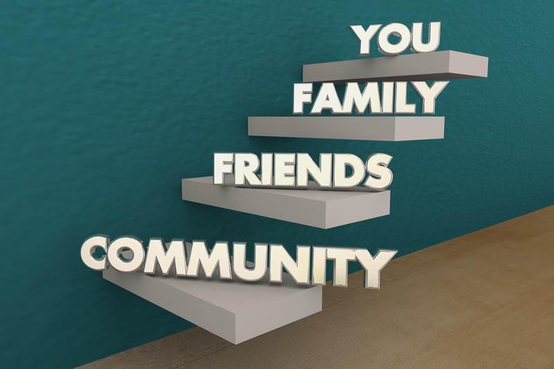 Blended family and community